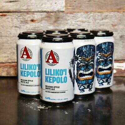 Avery Liliko'I Kepolo Passionfruit Belgian White Ale 12 FL. OZ. 6PK Cans