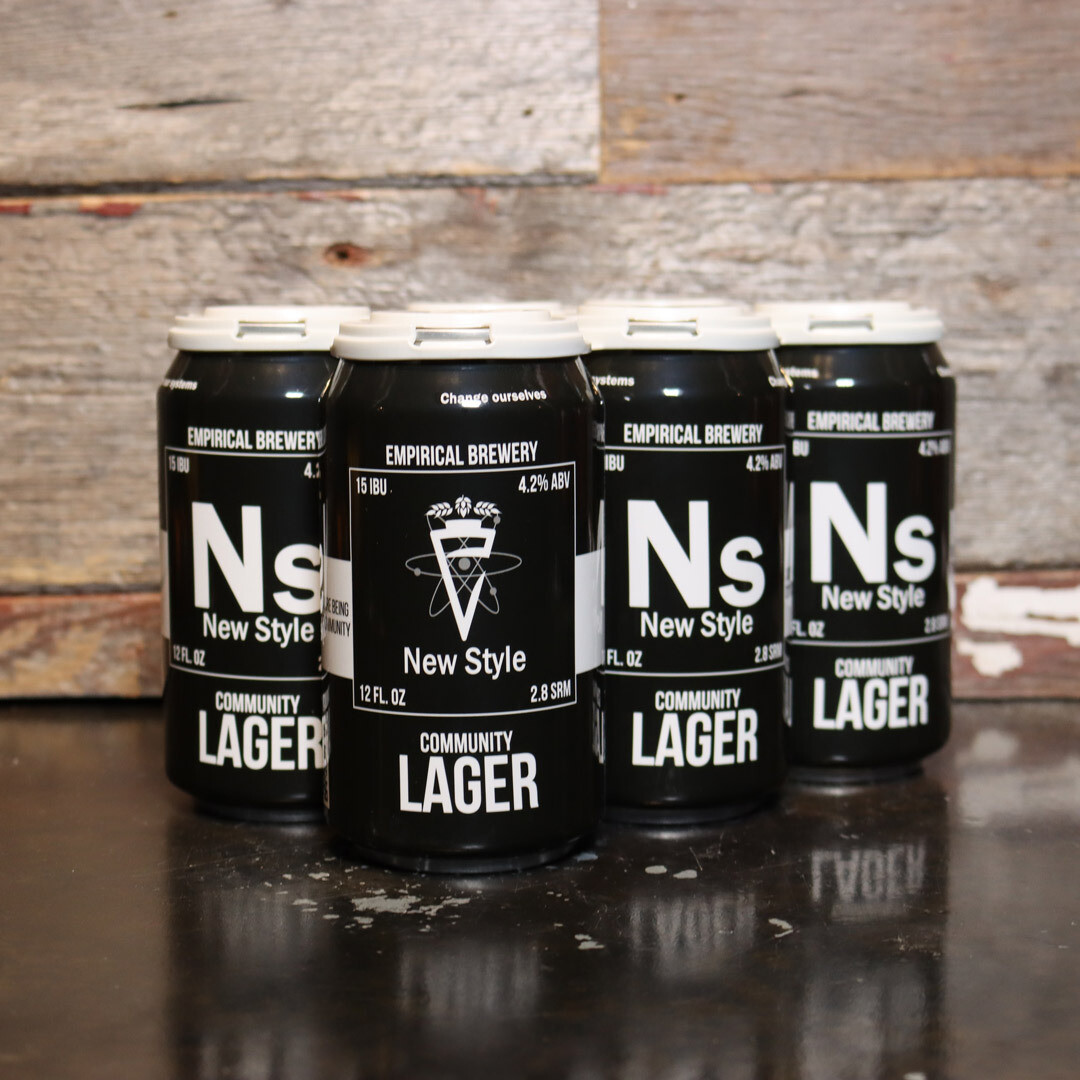 Empirical New Style Community Lager 12 FL. OZ. 6PK Cans