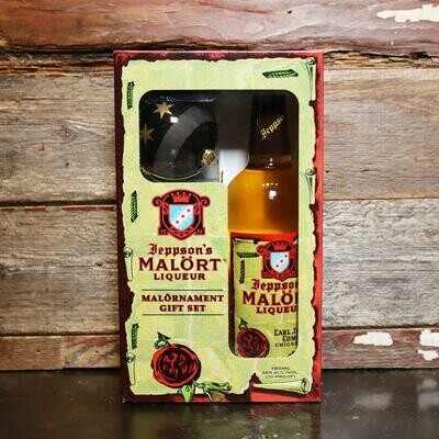 Jeppson's Malort 750ml. Gift Set w/Malornament 1 CT.