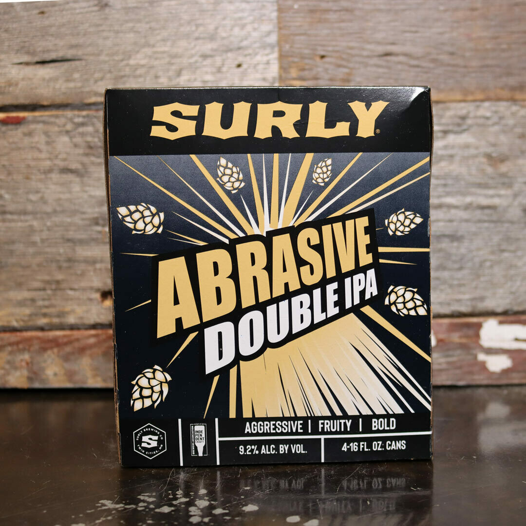 Surly Abrasive Ale DIPA 16 FL. OZ. 4PK Cans