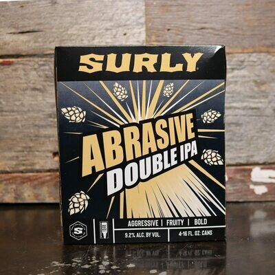 Surly Abrasive Ale DIPA 16 FL. OZ. 4PK Cans