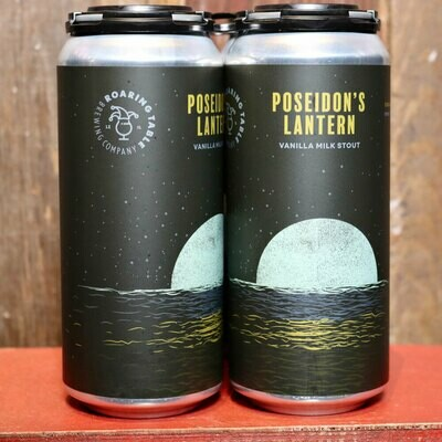 Roaring Table Poseidon's Lantern Vanilla Milk Stout 16 FL. OZ. 4PK Cans
