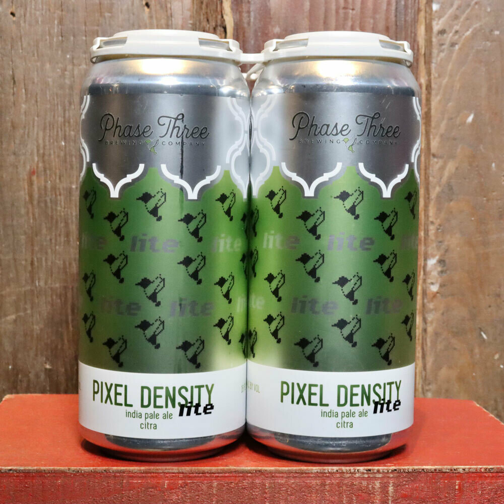 Phase Three Pixel Density LITE Citra IPA 16 FL. OZ. 4PK Cans
