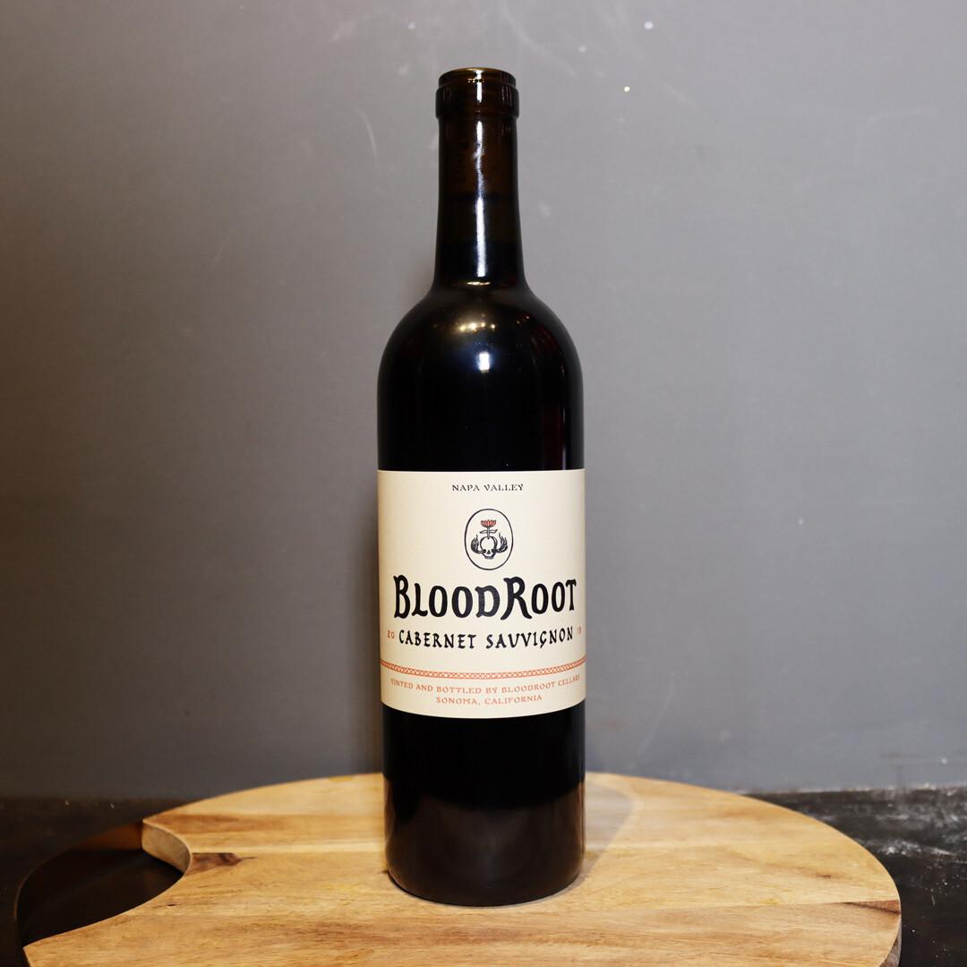 Blood Root Cabernet Sauvignon Napa Valley California 750ml.