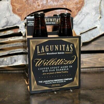 Lagunitas Willettized BA Stout 12 FL. OZ. 4PK