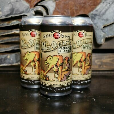 Spiteful Mrs. O'Leary's Chocolate Milk Stout 16 FL. OZ. 4PK Cans