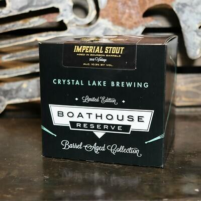 Crystal Lake Boathouse BBA Stout 12 FL. OZ. 4PK Cans