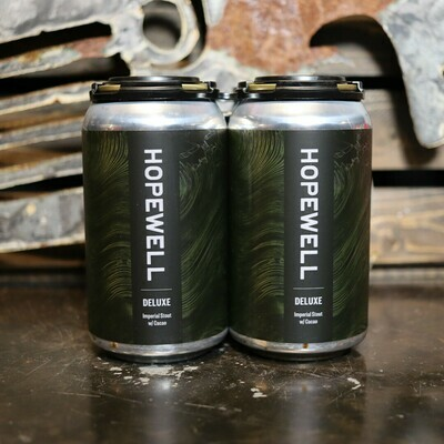 Hopewell Deluxe Imperial Stout w/Cacao 12 FL. OZ. 4PK Cans