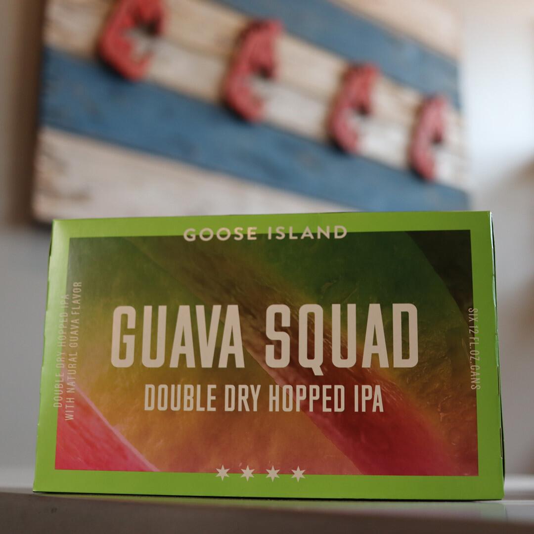 Goose Island Guava Squad DDH IPA w/Guava Flavor 12 FL. OZ. 6PK Cans