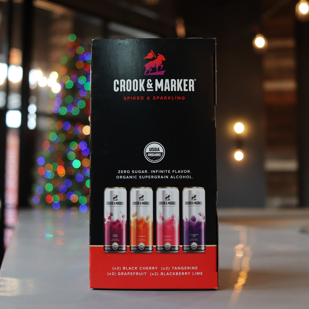 Crook & Marker Variety Pack 340ml. 8PK Cans