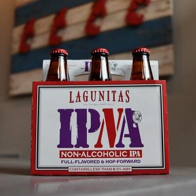 Lagunitas IPNA Non-Alcoholic IPA 12 FL. OZ. 6PK