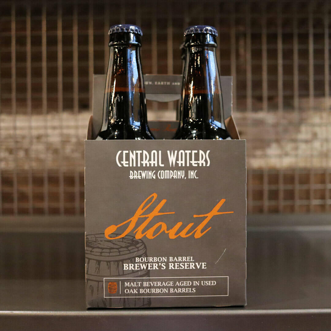 Central Waters BBA Stout 12 FL. OZ. 4PK