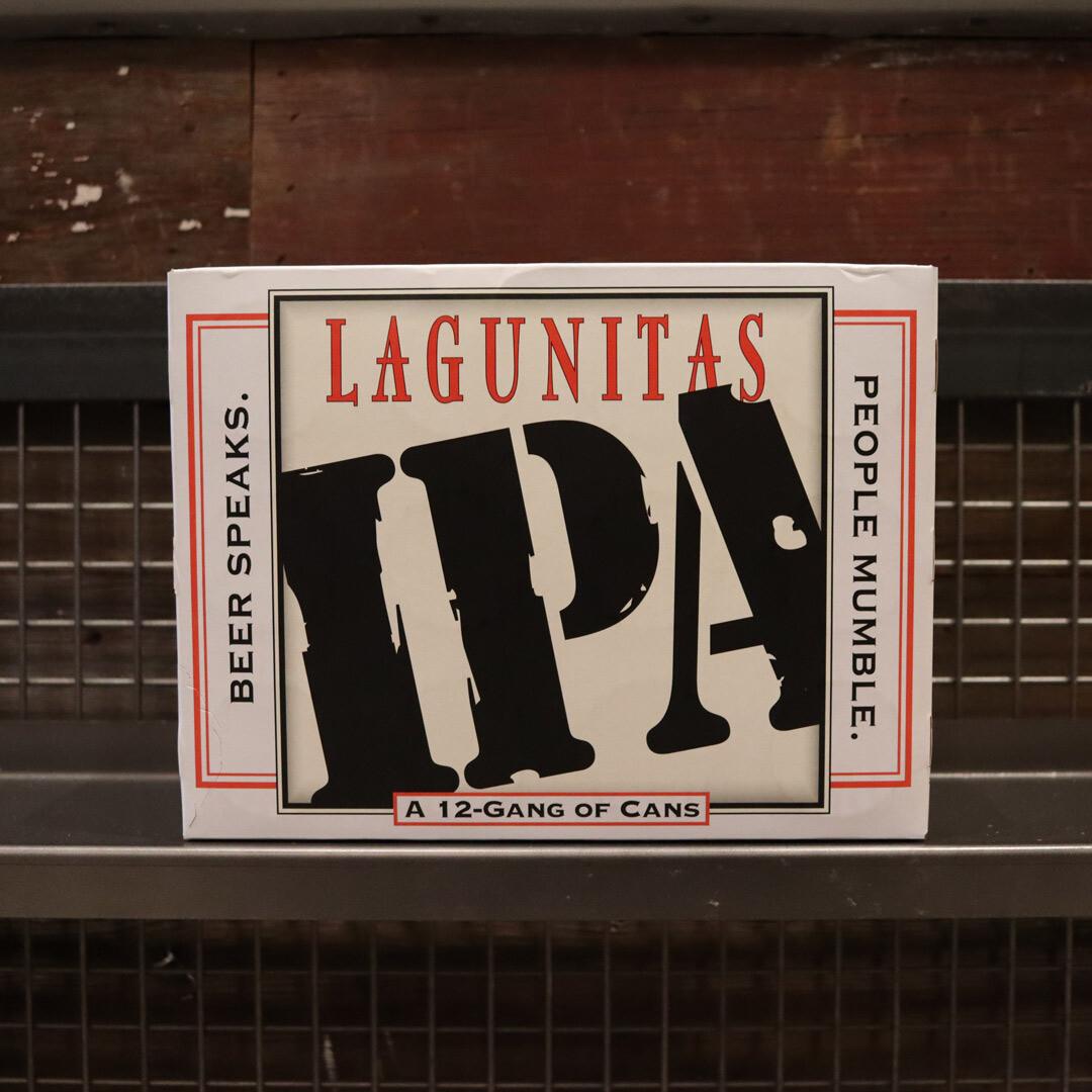 Lagunitas IPA 12 FL. OZ. 12PK Cans