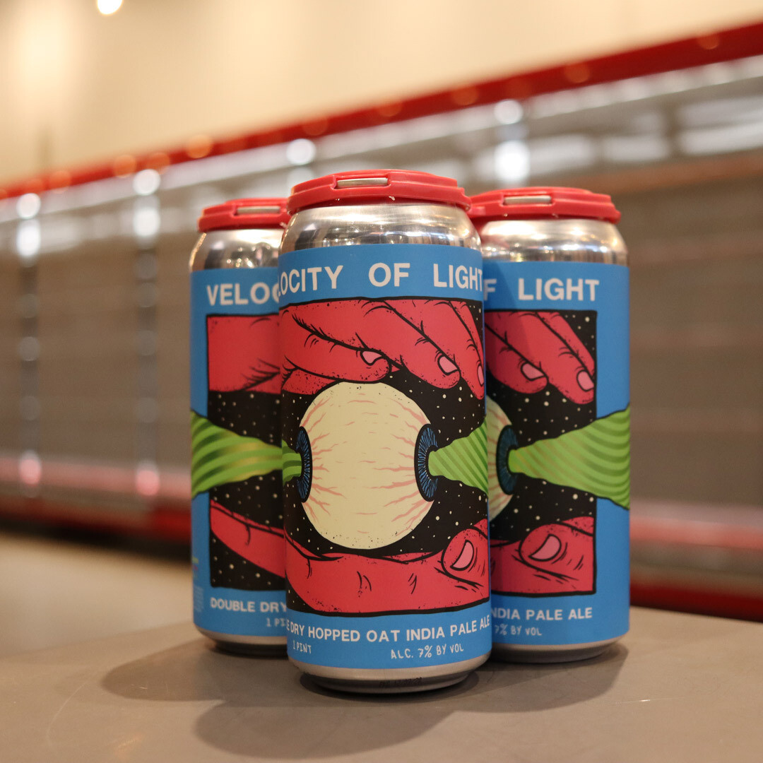 Pipeworks Velocity Of Light DDH Oat IPA 16 FL. OZ. 4 PK Cans