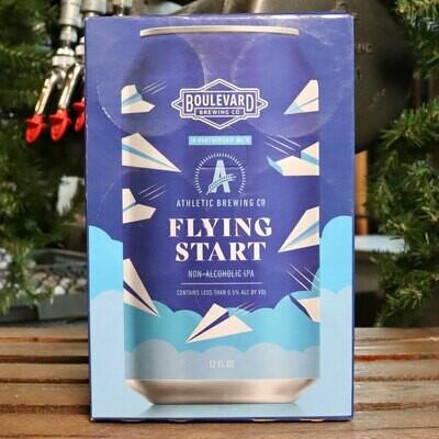 Boulevard/Athletic Flying Start N/A IPA 12 FL. OZ. 6PK Cans