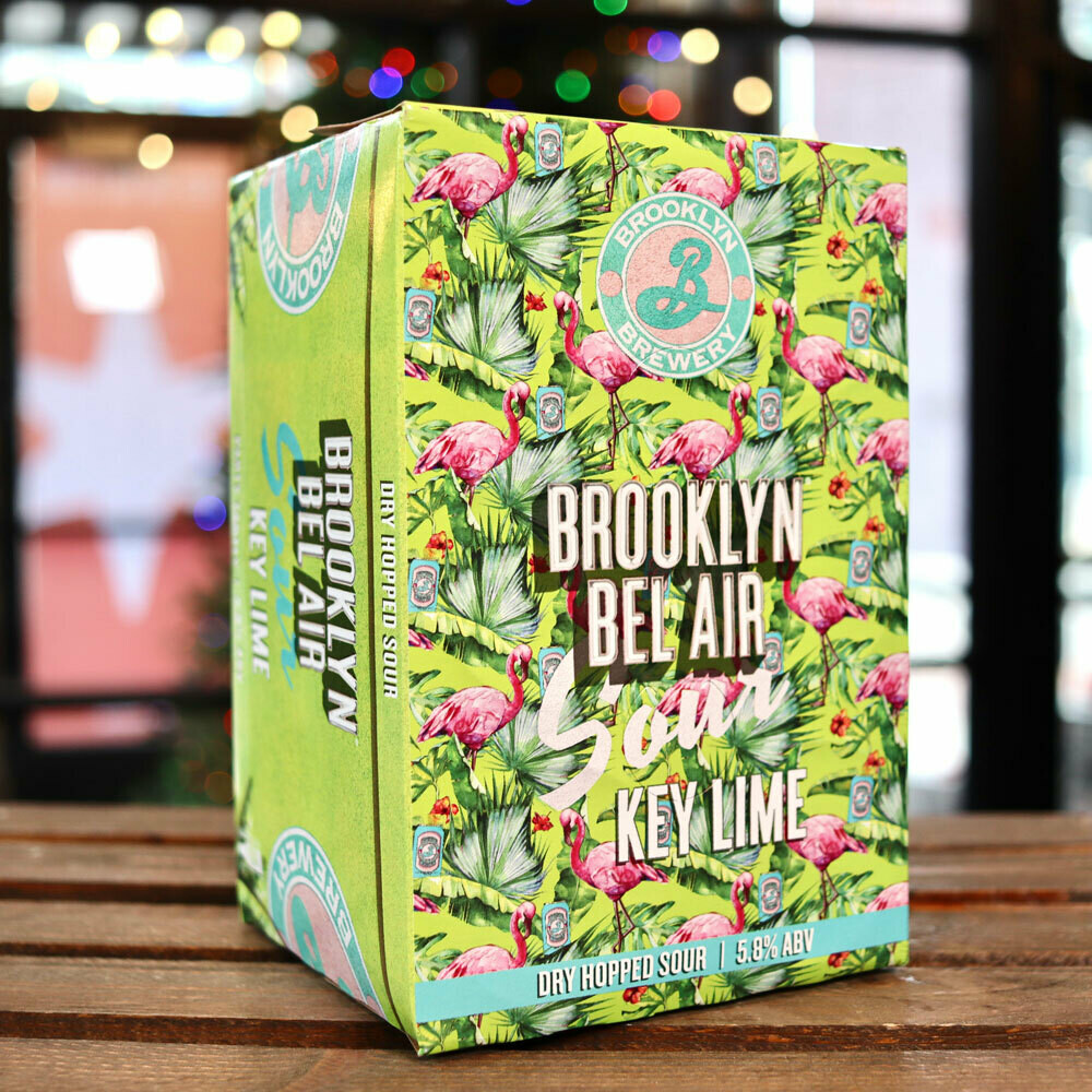 Brooklyn Bel Air Sour Key Lime Ale 12 FL. OZ. 6PK Cans