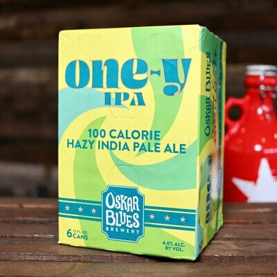 Oskar Blues One-Y Lo Cal IPA 12 FL. OZ. 6PK Cans