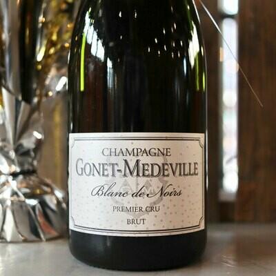 Gonet-Medeville Cru Blanc de Noirs NV Champagne France 750ml.