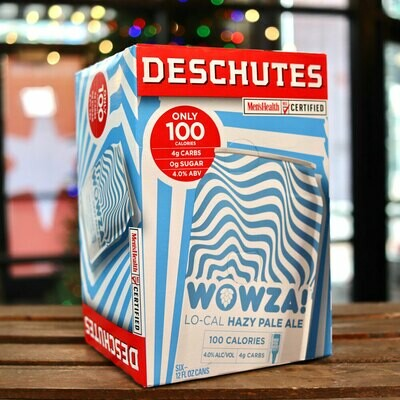 Deschutes Wowza! Lo-Cal Hazy Pale Ale 12 FL. OZ. 6PK Cans