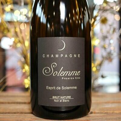 Solemme Premier Cru Brut Nature Champagne France 750 ml.