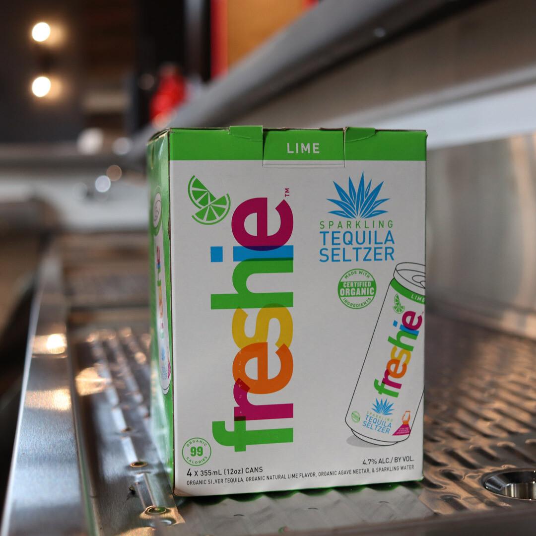 Freshie Tequila Seltzer Lime 12 FL. OZ. 4PK Cans
