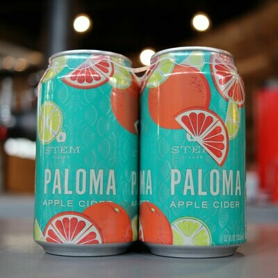 Stem Cider Paloma 12 FL. OZ. 4PK Cans