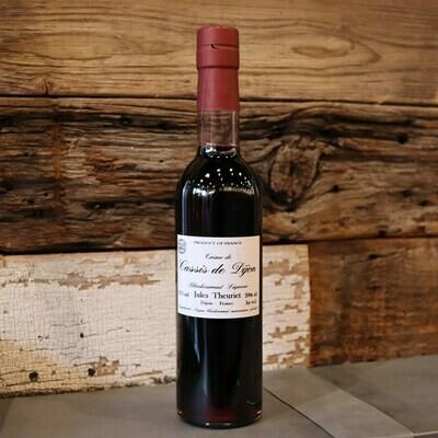 Jules Theuriet Creme de Cassis Black Currant Liqueur 375ml.