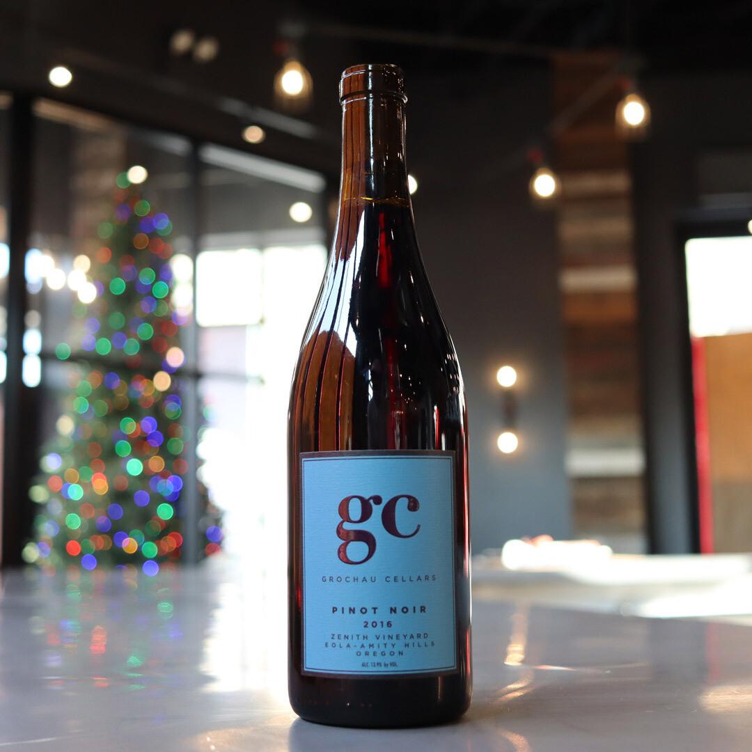 Grochau Cellars Pinot Noir Zenith Vineyard Eola/Amity Hills Oregon 750ml.