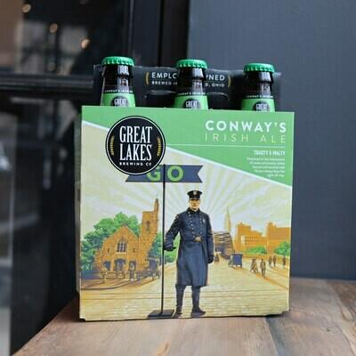 Great Lakes Conway's Irish Ale 12 FL. OZ. 6PK