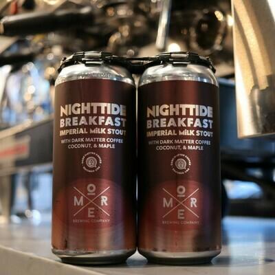 More Nighttide Breakfast Imperial Milk Stout w/Coffee, Coconut, & Maple