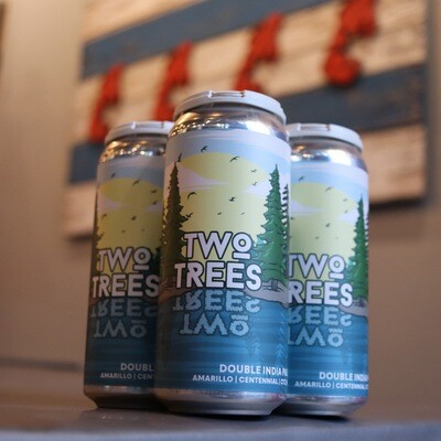 More Two Trees DIPA 16 FL. OZ. 4PK Cans