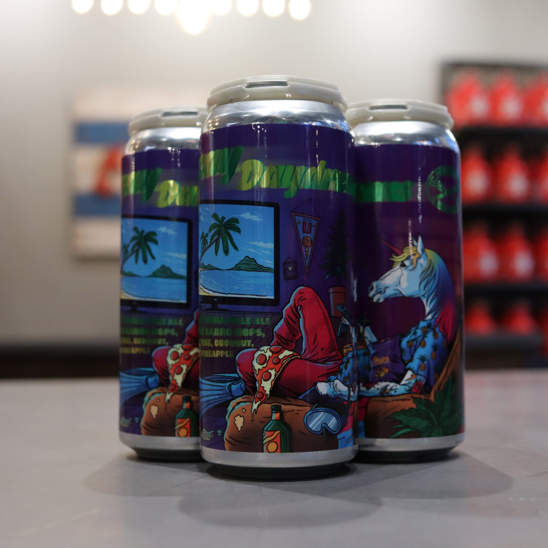Pipeworks Vacay Daydream Hazy IPA w/Lactose, Coconut, & Pineapple 16 FL. OZ. 4PK Cans