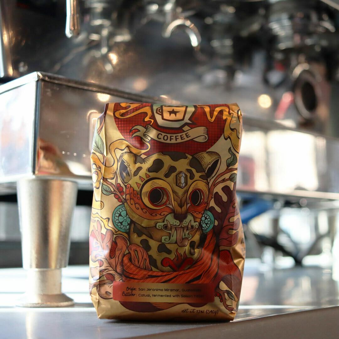 Dark Matter Fuego Whole Bean Coffee 12oz Bag