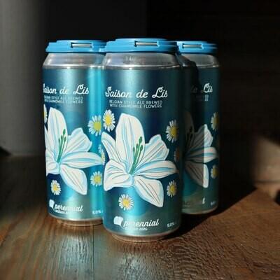 Perennial Saison de Lis Belgian Style Ale 16 FL. OZ. 4PK Cans
