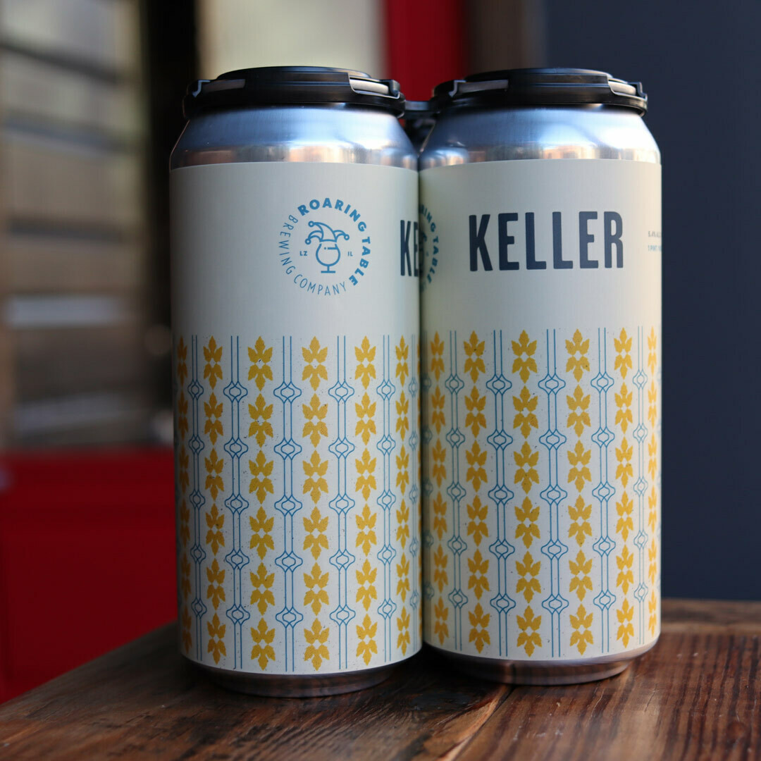Roaring Table Keller Lager 16 FL. OZ. 4PK Cans