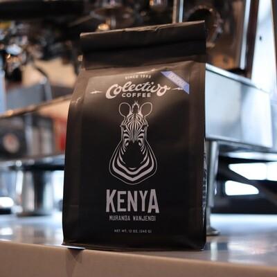 Colectivo Kenya Muranga Wanjengi Whole Bean Coffee 12oz. Bag