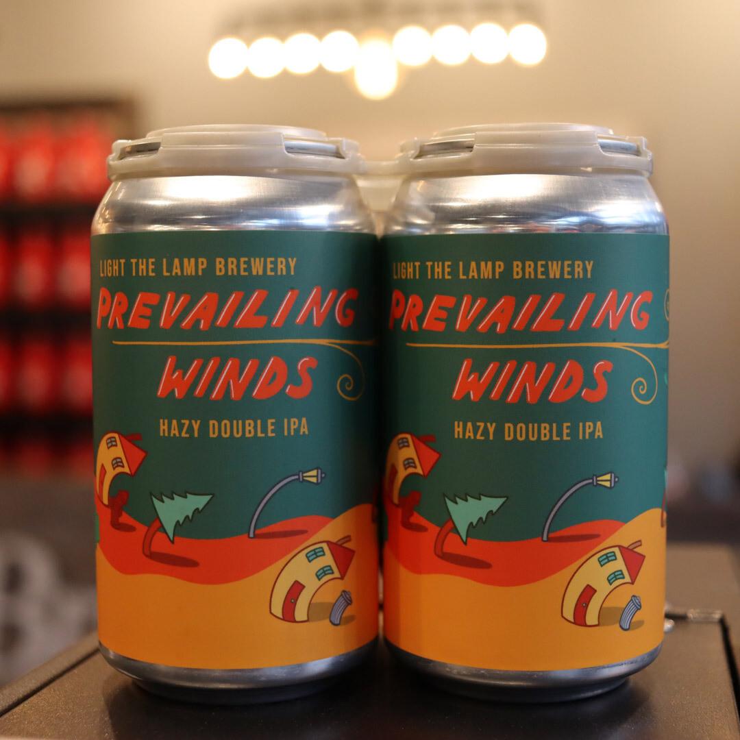Light The Lamp Prevailing Winds Hazy DIPA 12 FL. OZ. 4PK Cans