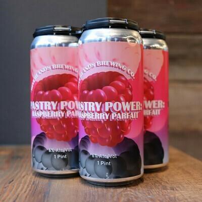 Riverlands Pastry Power: Raspberry Parfait Sour Ale 16 FL. OZ. 4PK Cans