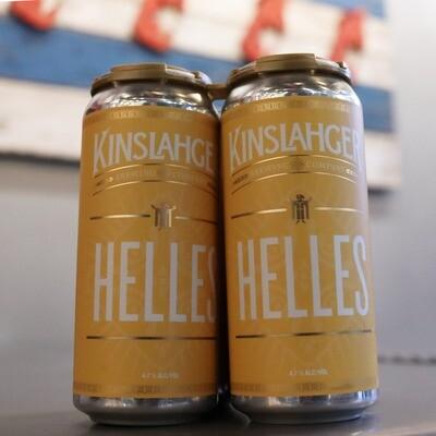Kinslahger Helles 16 FL. OZ. 4PK Cans