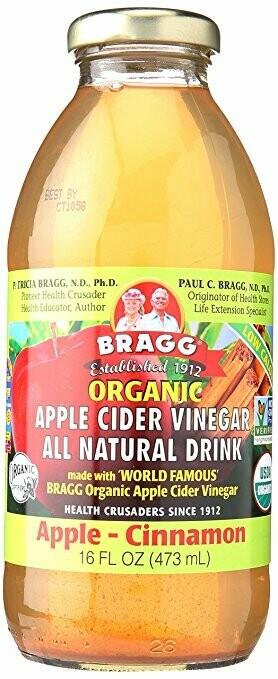 Bragg - Apple-Cinnamon (apple cider vinegar drink)