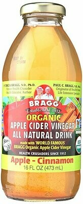 Bragg - Apple-Cinnamon (apple cider vinegar drink)