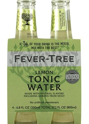 Fever Tree - Lemon Tonic 4Pk