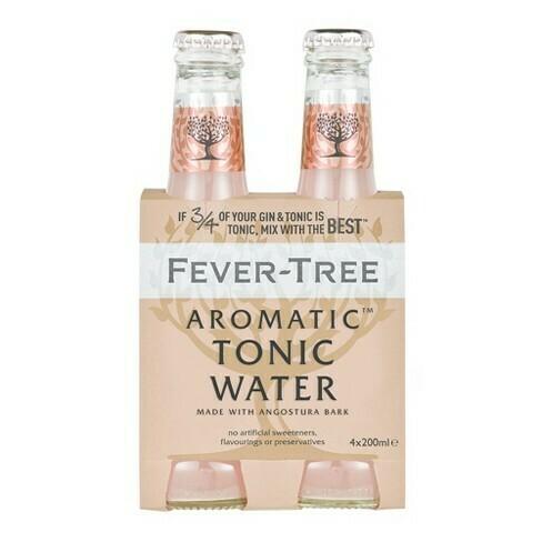 Fever Tree - Aromatic Tonic Water  4pk