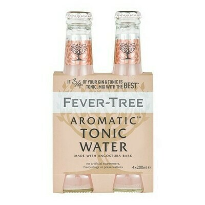 Fever Tree - Aromatic Tonic Water 4pk