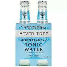 Fever Tree - Mediterranean Tonic Water 4pk