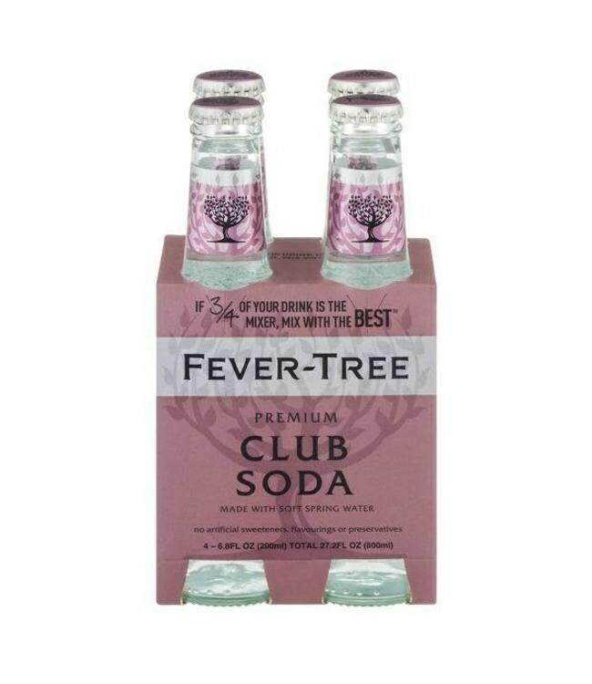 Fever Tree - Club Soda 4pk