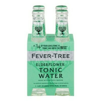 Fever Tree - Elderflower Tonic Water 4pk