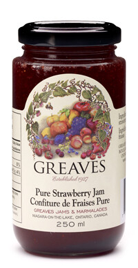 Greaves - Pure Strawberry Jam