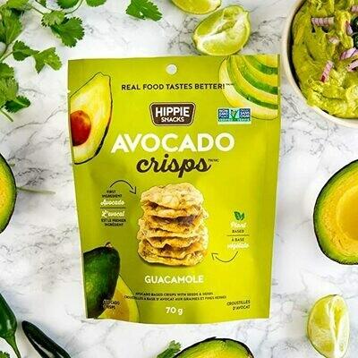 Hippie Foods - Avocado Crisps - Guacamole