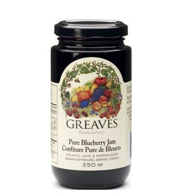 Greaves - Pure Blueberry Jam